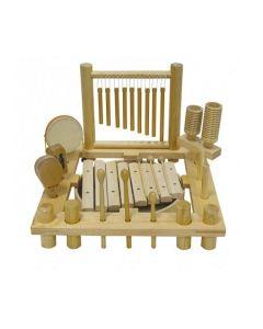 Percussion Instruments Set in Organiser 16pcs