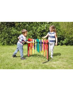 Tuned Double-Sided Boomwhacker Tubes 16pcs on Stand