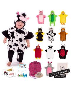 On the Farm Costumes Set of 10 Children's and 1 Educator Costume