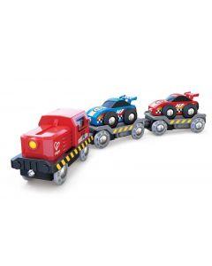 Railway Racecar Transporter Set