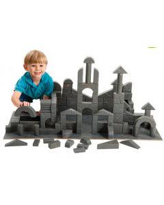 Unit Rock Blocks Architect Set 100pcs