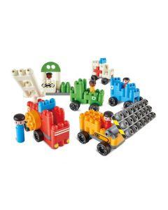 Poly-M Vehicles Set 129pcs