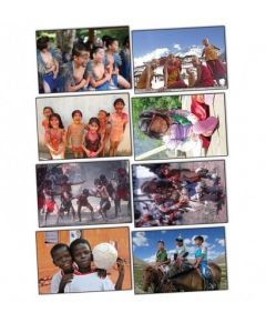 Children of the World Puzzles With Posters Set of 16