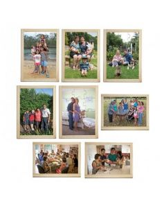 Multicultural Families Puzzle and Posters Set of 16