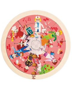 Jobs Double-Sided Puzzle 19pcs