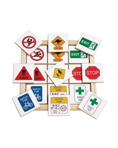 Safety Signs Memory Game