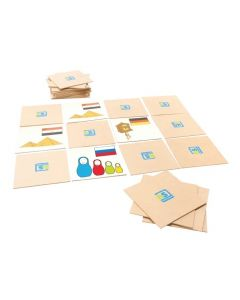 Flags and Countries Memory Game