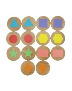 Shapes Memory Discs 14pcs