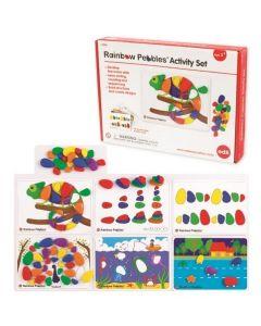 Rainbow Pebbles Activity Set 48pcs