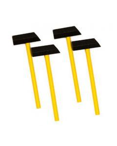 Tap Tap Wooden Hammers 4pcs
