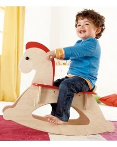 Toddler's Wooden Rocking Horse