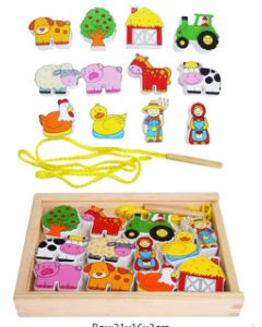 Lacing Farm Set 12pcs