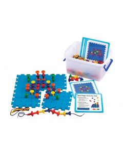 Geo Pegboard Activity Set 172pcs
