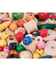 Threading Beads and Reels in Tub 480g