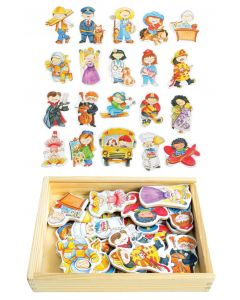 Magnetic Occupations Set 20pcs