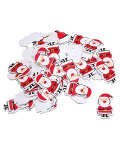 Santa Foam Stickers 75pcs