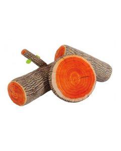 Log Cushions Set of 3