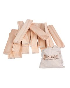 Building Planks In Calico Bag 200pcs