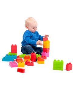 Chunky Soft Bricks 45pcs