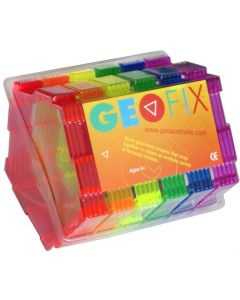 Geoshapes Pentagons Crystal Fluoro Pack 30pcs
