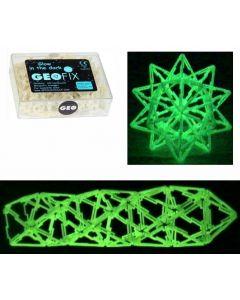 Mini Geofix Glow-in-the-Dark Triangles 120pcs