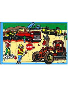 Road Workers Puzzle 24pcs