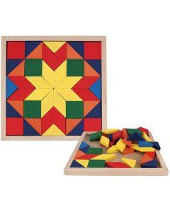Mosaic Flat Puzzle 44pcs