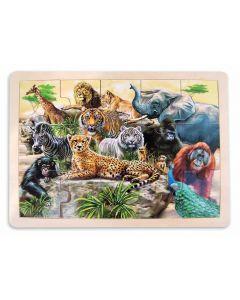 Wild Animals Puzzle 48pcs