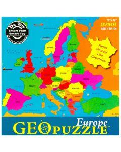 Geo Europe Puzzle 58pcs