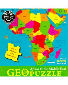 Geo Africa & Middle East Puzzle 65pcs