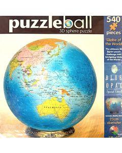 Planet Earth 3D Sphere Puzzle  23cmD 540pcs