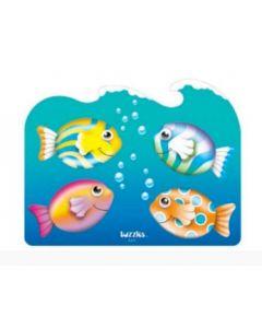 Fish in Ocean Raised Puzzle 12pcs