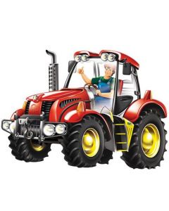 Large Tractor Table Puzzle 21pcs