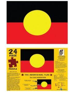 The Aboriginal Flag A3 Table Puzzle 204pcs