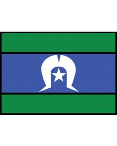 Torres Strait Islands Flag A3 Table Puzzle 204pcs