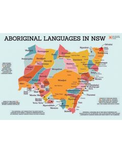 Indigenous Languages of NSW A3 Table Puzzle 204pcs