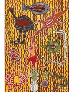 Aboriginal Tucker A3 Table Puzzle 204pcs