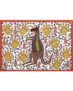 Kangaroo A3 Table Puzzle 204pcs