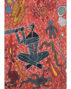 Didgeridoo Man A3 Table Puzzle 204pcs