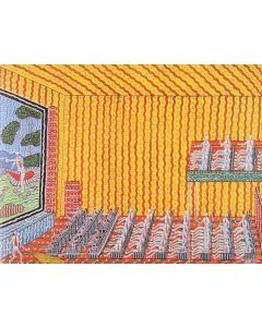 Roped Off at the Pictures A3 Puzzle 96pcs