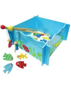 Magnetic Fishing Game & 4 Rods