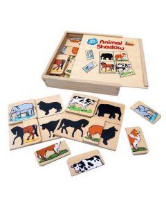 Animal Shadows Game 36pcs
