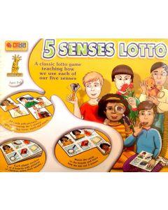 5 Senses Lotto Game