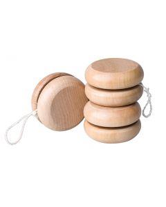 Natural Wooden YoYos 10pcs