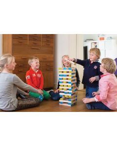Large Wooden Tumble Tower 60pcs