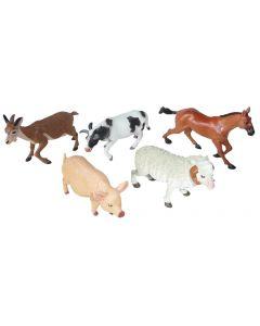 Farm Animals Medium 6pcs