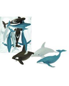 Medium Whales & Dolphins 7pcs