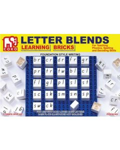 Coko Letter Blends Bricks 22pcs