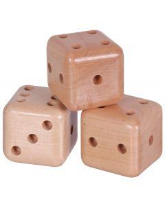 Jumbo Tactile Number Dice 3pcs