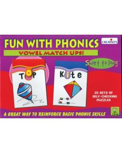 Fun With Phonics Vowel Matchups